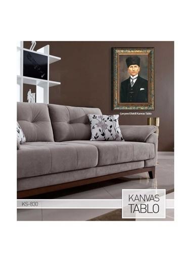 Artikel Atatürk-12 Kanvas Tablo 50X70 Cm Renkli